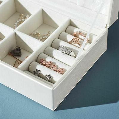 Ring Earring Display Organizer Case Gift