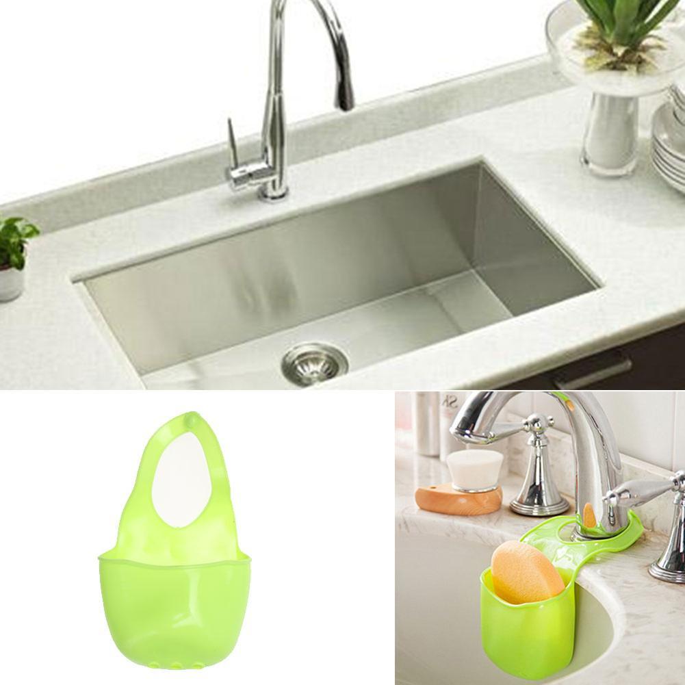 Kitchen Bathroom Container faucet soft sponge soap <font><b>box</b></font> sink <font><b>shelf</b></font> drain
