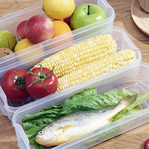 Storage Box Storage Contain Sealed Organizer Food Container