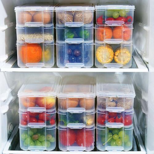 storage box storage contain sealed home organizer