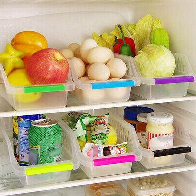 kitchen fridge storage box space saver food