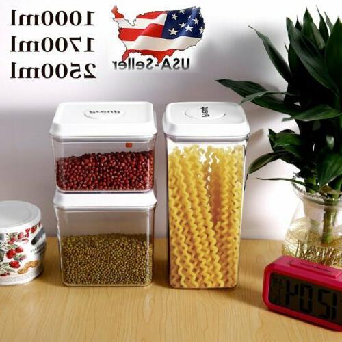 kitchen storage box sealing food preservation fresh
