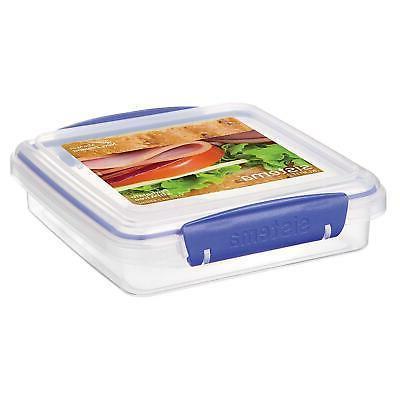 klip it sandwich lunch box food storage