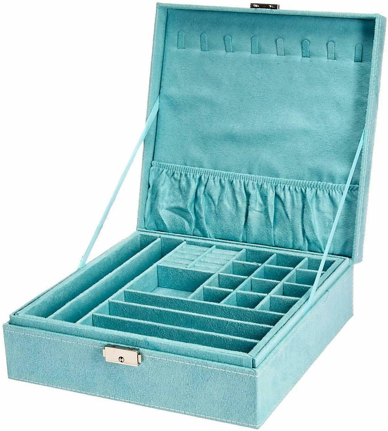 kloud city two layer lint jewelry box