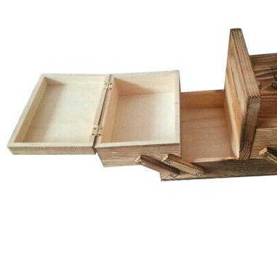 large Sewing Box Handle Boxes Chest