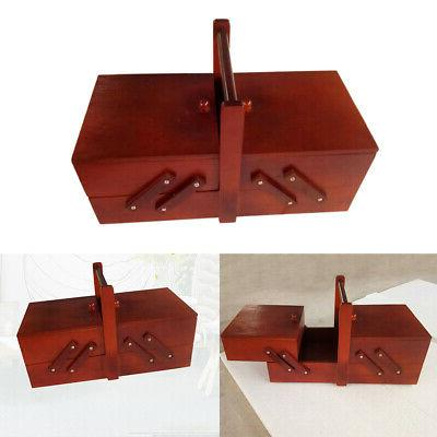 large capacity Sewing Box With Boxes Home Decor Chest