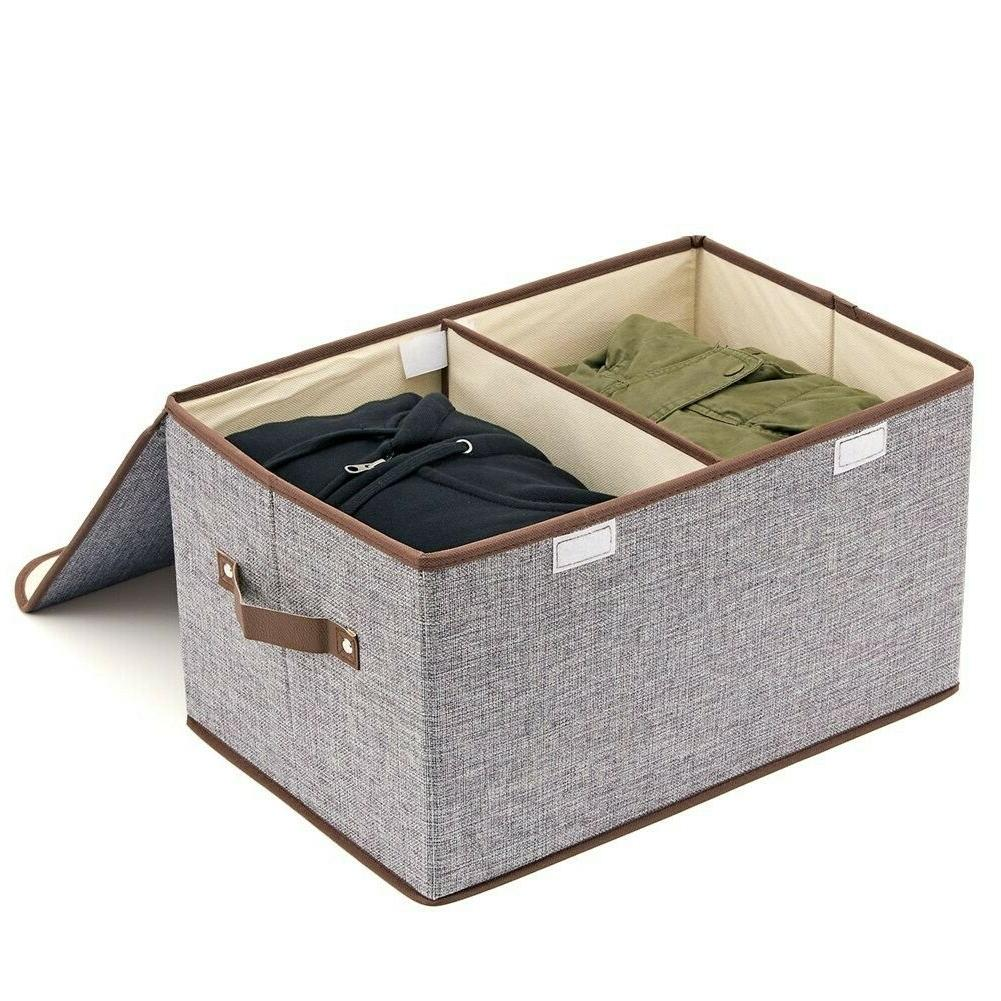Large Storage Dressing Toys, Linen, Foldable -3 packs