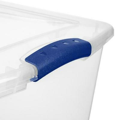 6 PACK- 66 Large Containers Box Organizer