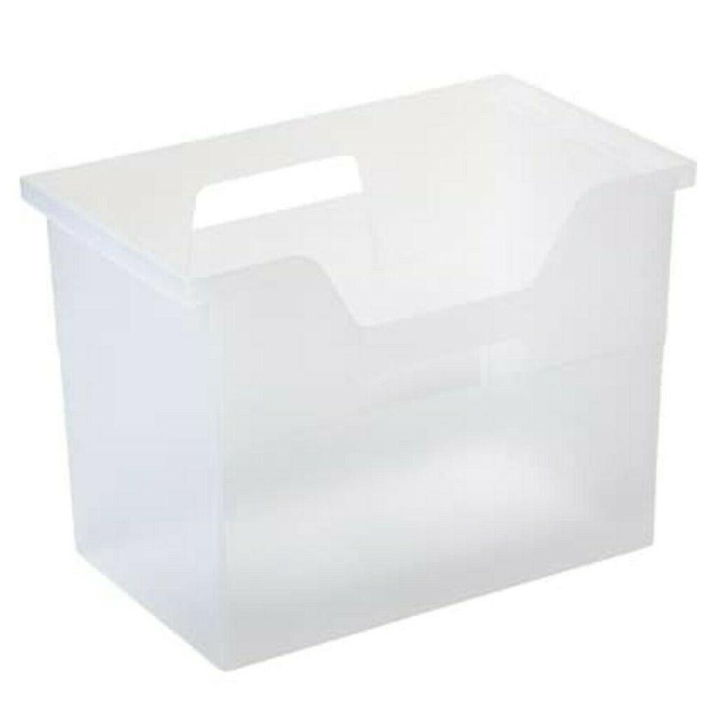 letter size portable hanging file storage box