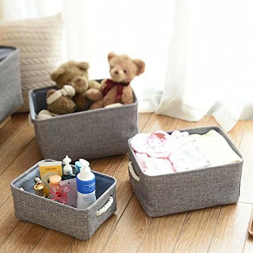 linen storage baskets bins toy boxes laundry