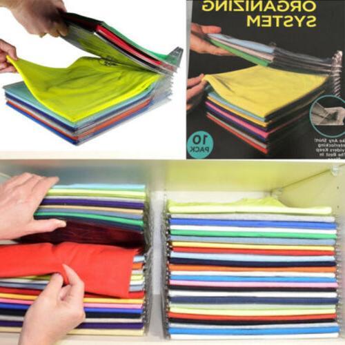 Lot 20 Clothes Organizer System Closet Convenient Home