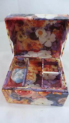 Lot of 3 Decorative Storage Gift Boxes: Heart, Jewelry Box