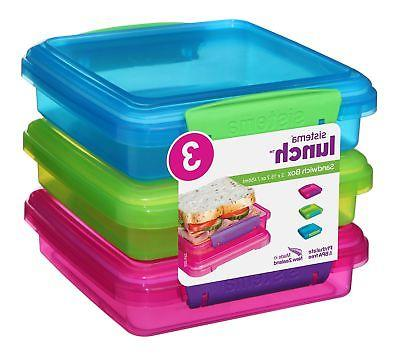 lunch collection sandwich box food storage containers