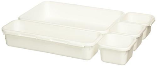 madesmart 8-Piece Bin Pack -   Customizable Durable   Easy Clean BPA-Free