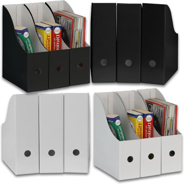 Magazine File Holder Letter Size File Folder Storage Organiz
