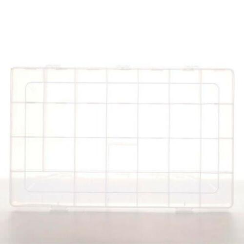Magnetic Letter Clear Storage Box Jewelry Case
