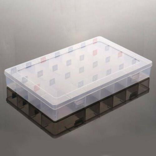 magnetic letter clear plastic storage box jewelry