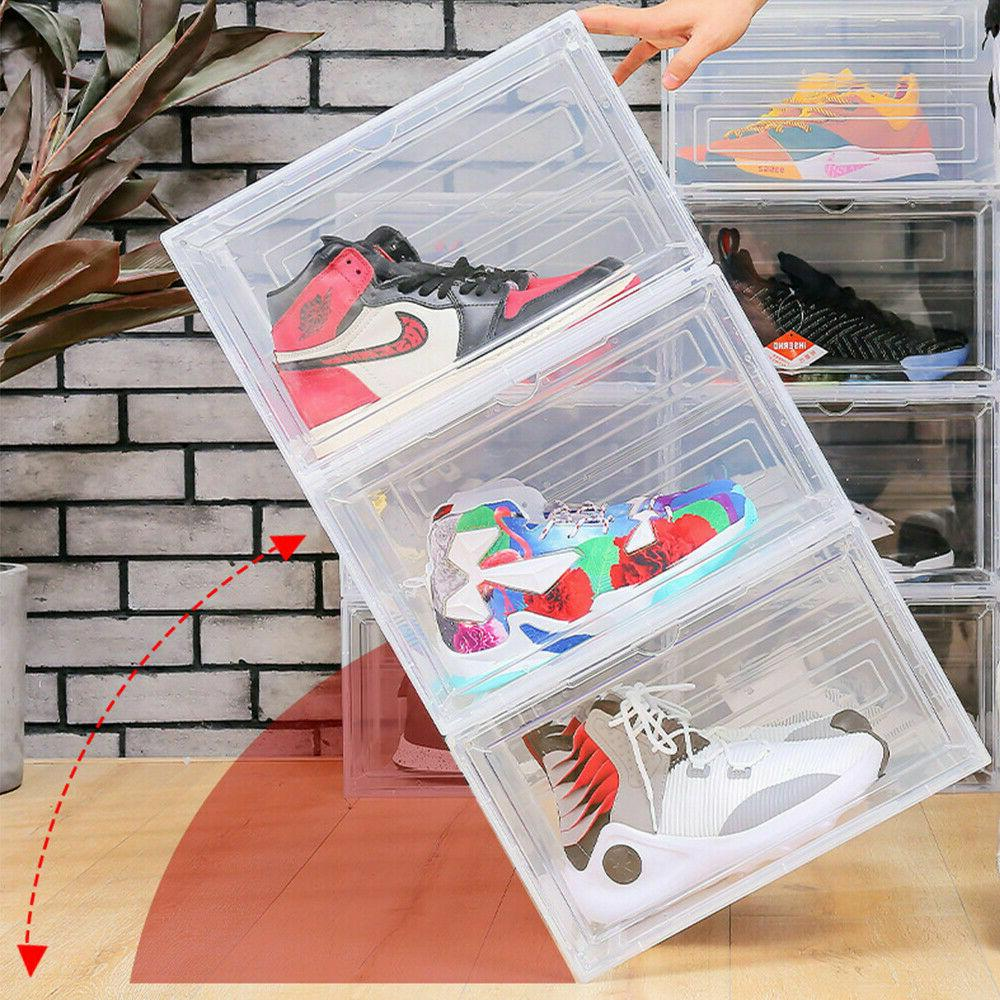 Magnetic Shoe Storage Drop Stackable