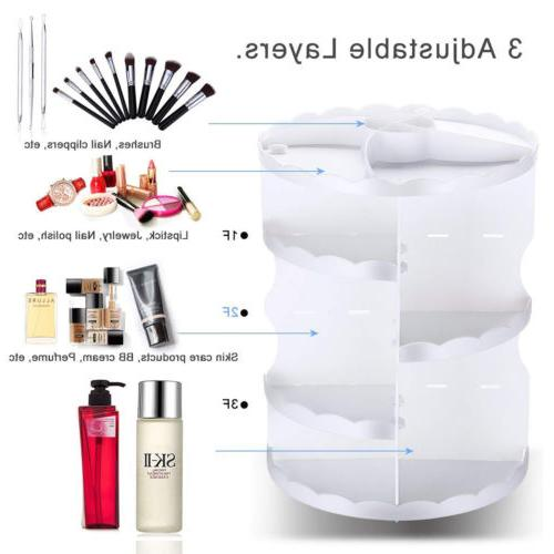 Makeup 360 Rotating Storage Box
