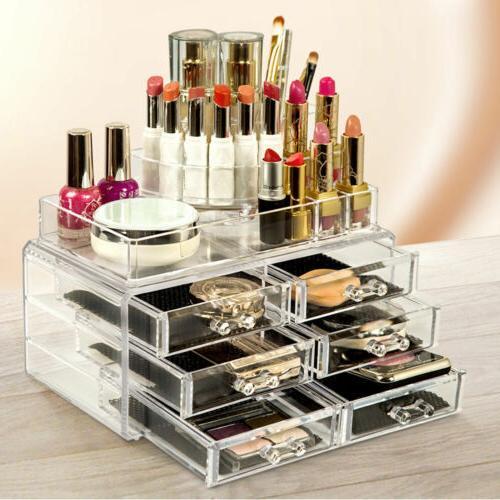 Makeup Cosmetics Display Storage Space