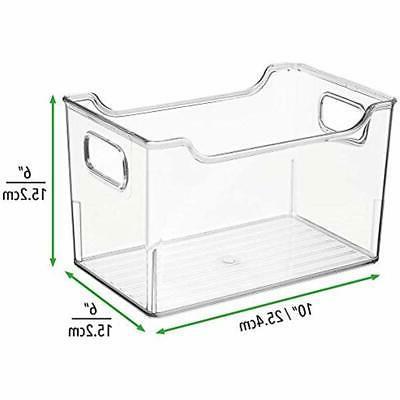 MDesign Systems Storage Organizer, Box Handles -