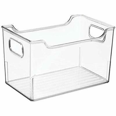 MDesign Closet Storage Bin Box