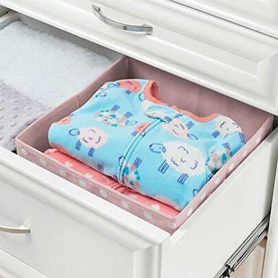 MDesign Systems Fabric Organizer Holder Box Bin 4
