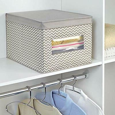 Closet Organizer Box With