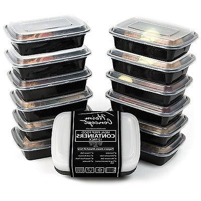 Heim Concept Prep Food Containers Stackable