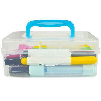 Mini Plastic Transparent Container Bin,