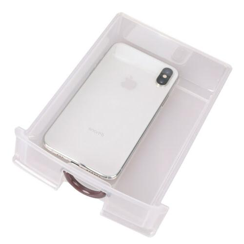 5 Drawer Bin Desktop Box White
