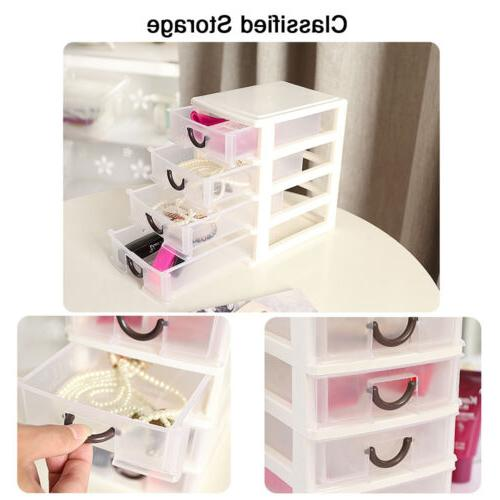Mini Organizer Tower Storage Cabinet