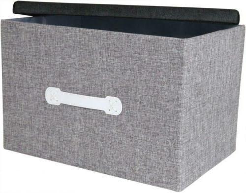 Natural Storage Box - Archival Organization - Grey
