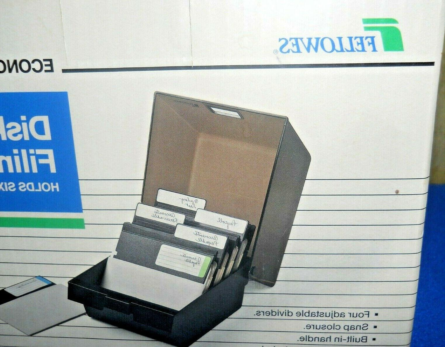 NEW FLOPPY DISK STORAGE Dividers 5 1/4 Disc File