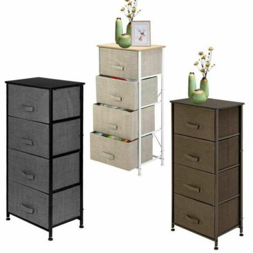 new shelf storage bins 4 drawers tower
