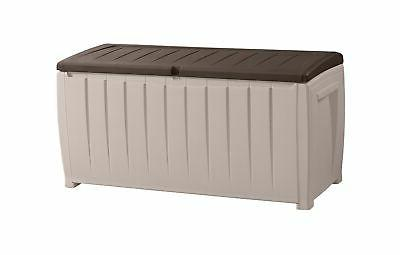 novel plastic deck storage container