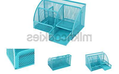 PAG Supplies Desk Holder Accessories Storage Caddy ...
