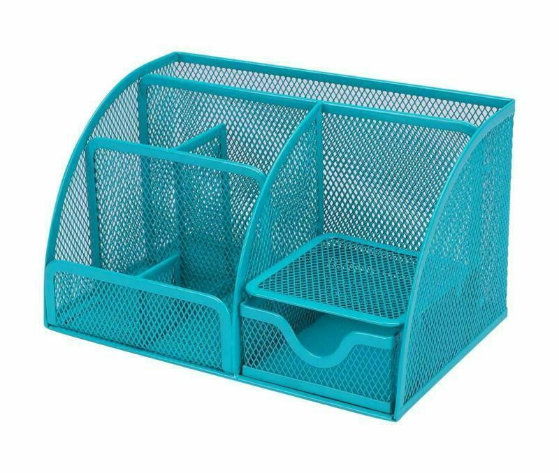 Office Mesh Organizer Set Caddy Pen For Desk