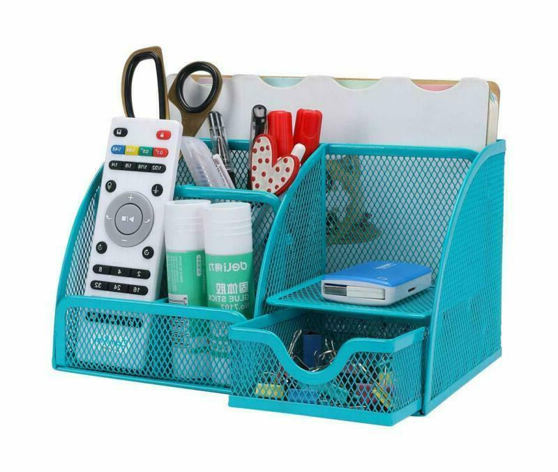 Office Set Accessories Caddy Pen Holder For