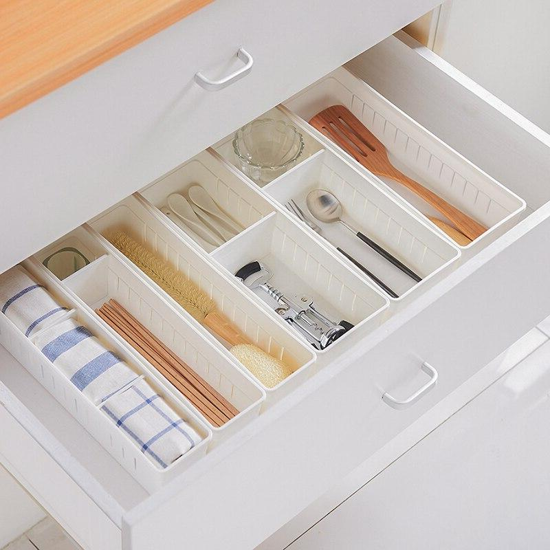 Baffect <font><b>Home</b></font> Office Organizer Kitchen Desk <font><b>Box</b></font> Drawer Cosmetics