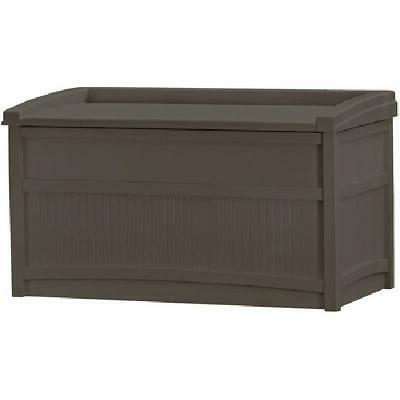 50 Gallon Outdoor Storage Bench Patio Box Garden Deck Yard P
