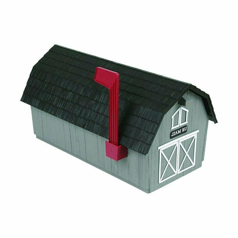 Mailbox Post Outdoor Farmhouse Letter Postal Storage