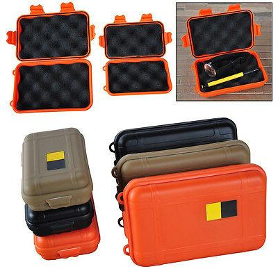 Outdoor Waterproof Airtight Survival Container Storage Carry Box