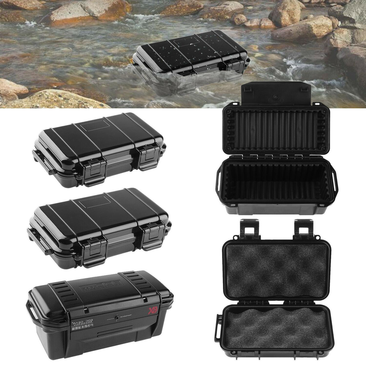 outdoor survival container storage case sealed waterproof