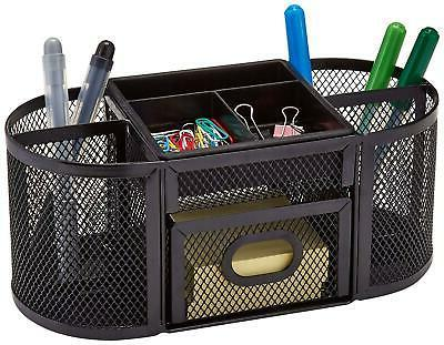 Pencil And Office Desk Supplies Organizer Desktop Storage