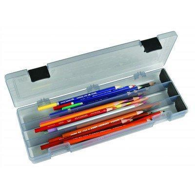 ArtBin Pencil/Utility Box in. in. x 1.75 in. charcoal