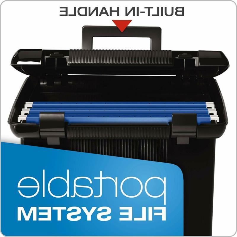 Pendaflex Portable File Black, W