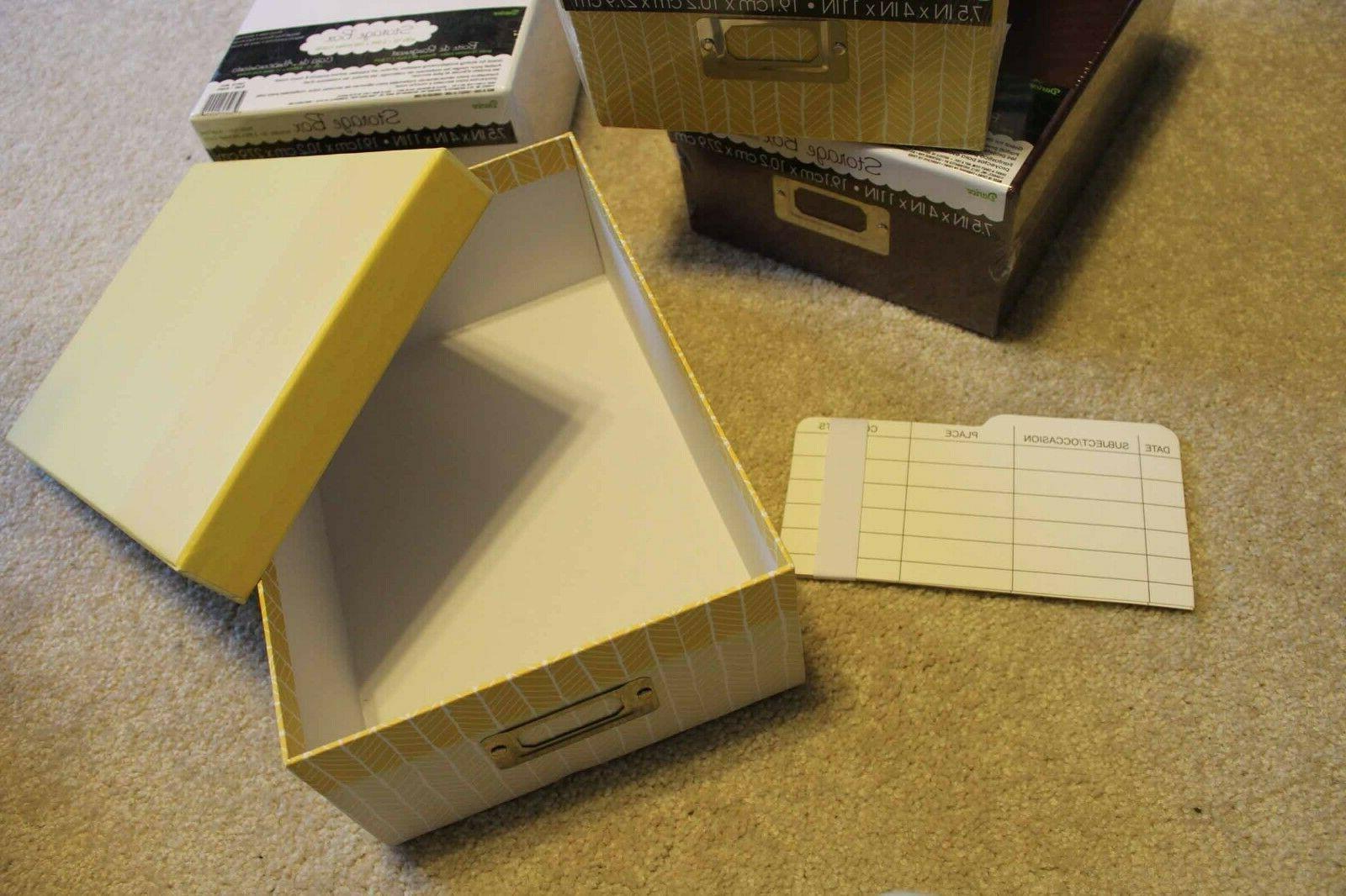 Darice Storage Plain tan yellow Paper 7.5 x 4 x