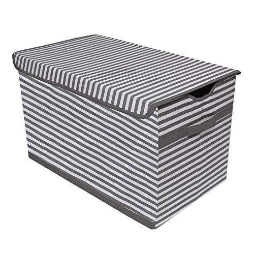 pin stripes kids storage toy