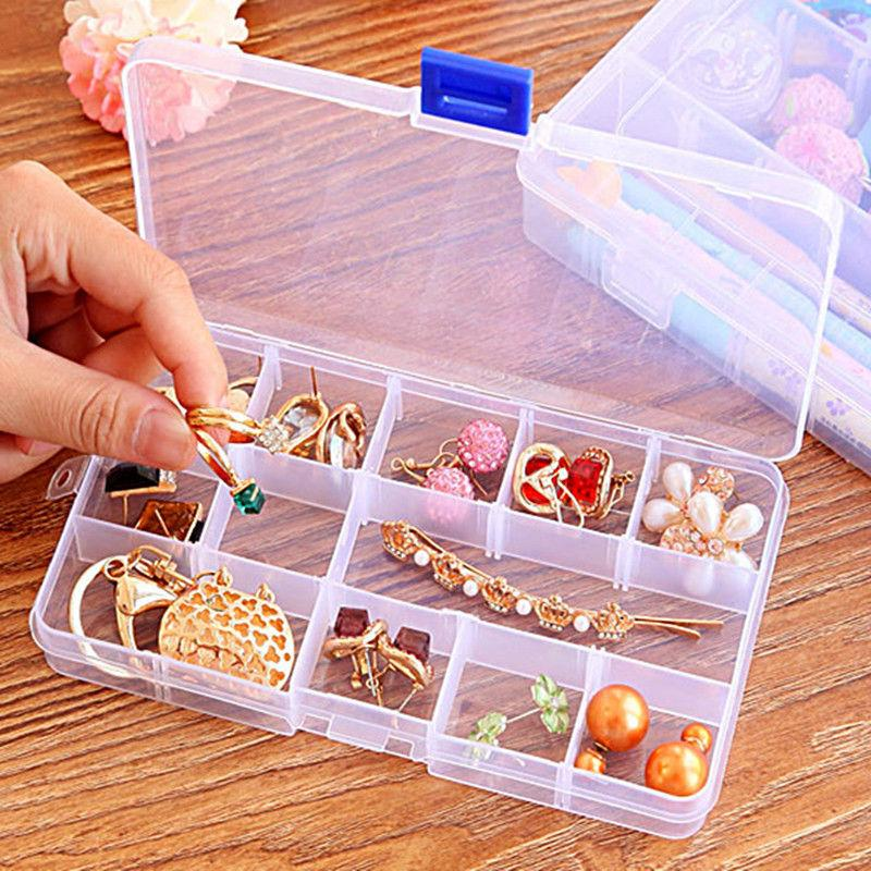 Plastic 15/10/24 Adjustable Jewelry Storage Craft